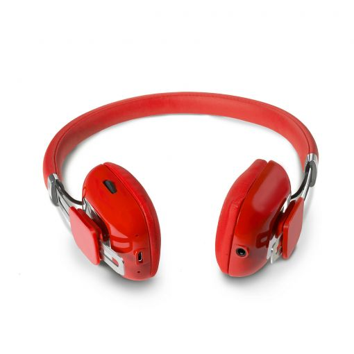 Sumvision Orchid lightweight wireless Bluetooth headphones headset WIth Mic RED
